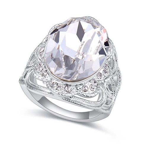 $14,55 Universe's eyes Swarovski crystal engagement ring Jewelry Wholesale. BEST PRICE: Directly in the jewelry factory. VAT-free shopping: Available, partners based in the European Union, only applies to EU tax identification number (UID). Exclusive design SWAROVSKI crystals and AAA Zircon crystal engagement rings, wedding & bridal rings, cocktail party rings.