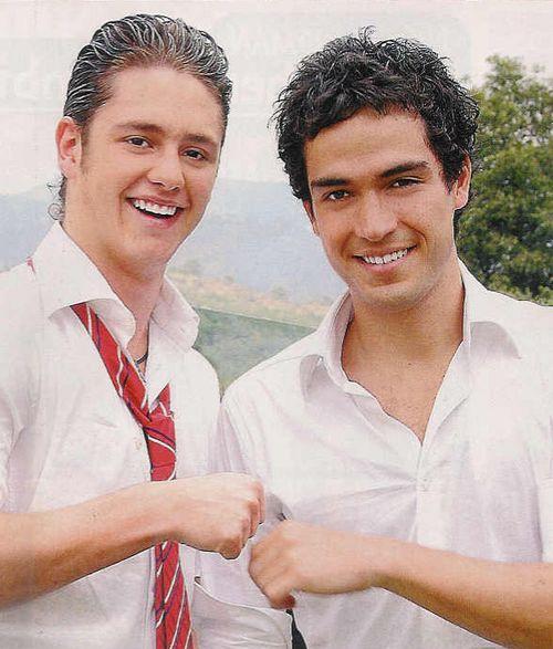 Diego y Miguel #ChristopherUckermann #AlfonsoHerrera #Poncho #Rebelde #RBD