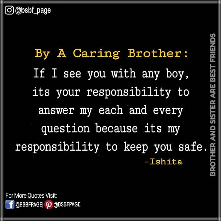 630 Likes 21 Comments Brother Sister Best Friends Bsbf Page On Instagram Tag Mention Share Wit Brother Sister Quotes Sister Quotes Funny Brother Quotes