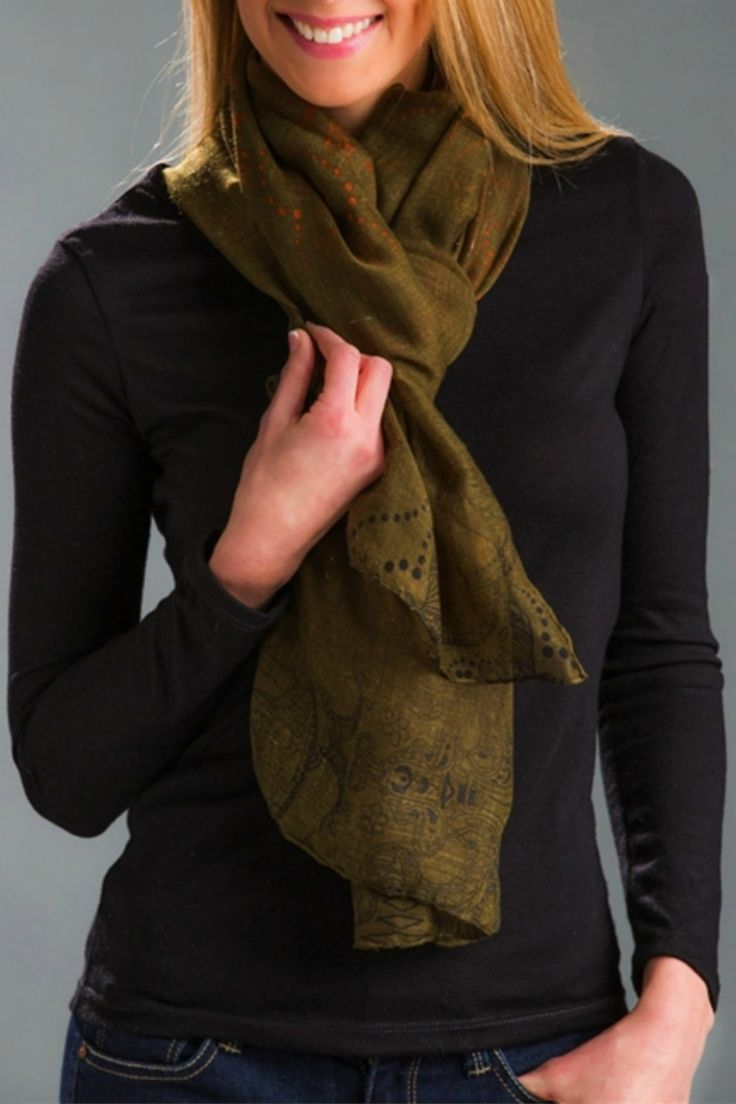 Perfectly Paisley Scarf