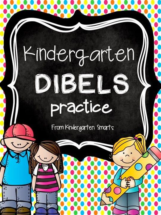 Kindergarten DIBELS Practice with printable worksheets