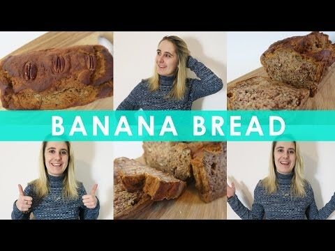 RECIPE: Healthy Gluten Free Banana Bread – Dairy Free & Refined Sugar Free – Gluten Free Cuppa Tea ♥ Free From Food Blogger, Becky, UK.