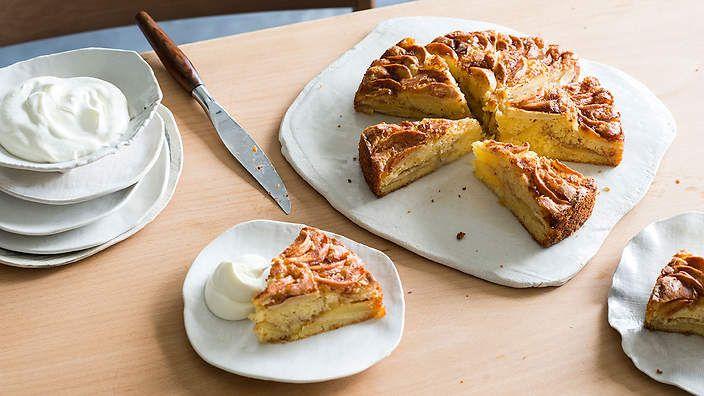 Danish Apple Cake Aeblekage Recipe