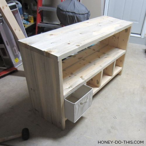 DIY Changing Table Would Work For Toy And Bag Storage Also. | House N Home  Projects | Pinterest | Diy Changing Table, Storage And Toy