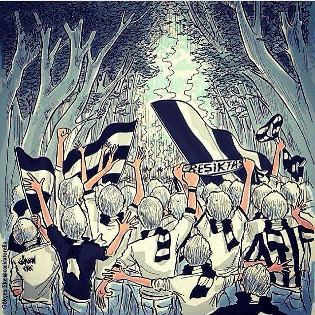 Memleketin 4-1 yanı Siyah-Beyaz.. Tebrikler @besiktas! #Beşiktaş #Uefa #Olympiakos #Zafer