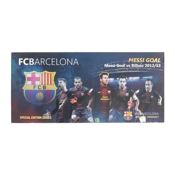 FC Barcelona 2012/13 Messi Goal vs Bilbao - Flipbook (Premium Edition) | FCB Official Online Store ASIA - PACIFIC