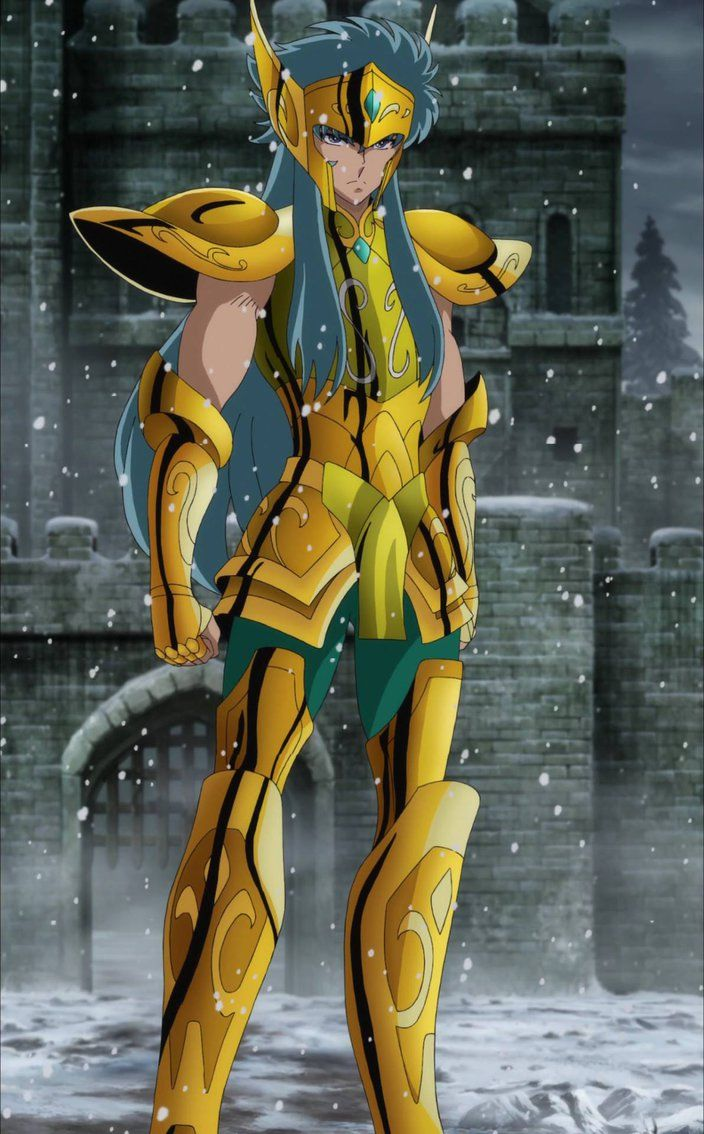 Saint Seiya Soul of Gold - Camus Aquarius by Bluerathy-S