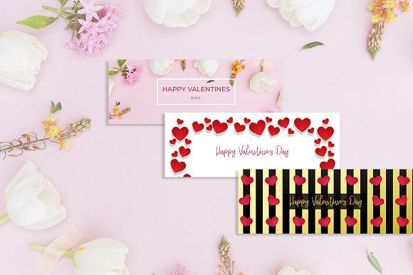 Valentine's Day Special FB Banner by sandymanme on @creativemarket