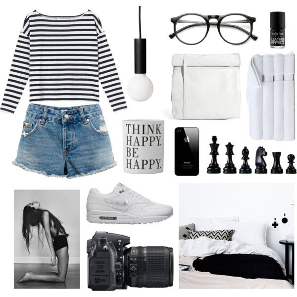 """""""B&W STYLE HOME"""" by subysu on Polyvore"""