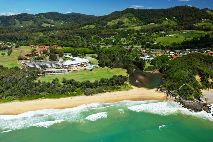 Spectacular Location of the Resort with amazing views of the Ocean and Hinterland