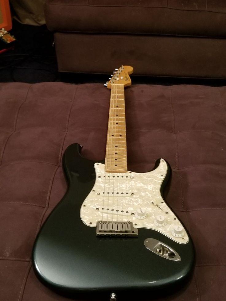 1988 American Standard Stratocaster Metallic Sherwood Green