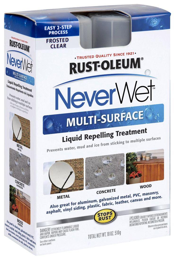 Amazon.com: Rust Oleum 274232 Never Wet Multi Purpose Kit: Home Improvement