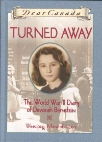 PBHF F MAT Turned Away: The World War II Diary of Devorah Bernstein. This dramatic story tells of 11-year-old Devorah's efforts to help her cousin and pen pal Sarah emigrate from Paris before the Nazis deport the Jews to internment camps. Devorah learns that 5,000 Jewish children in France have visas to leave the country, but the Canadian government will not let them in, leading Devorah to desperately lobby the government to change its policies.