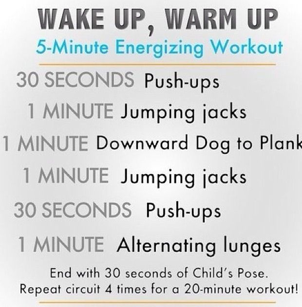 Good Morning Workout : A good quick morning workout at home daily