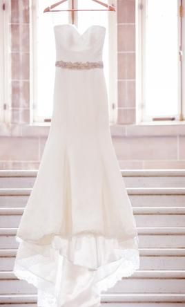 Augusta Jones Jamya wedding dress currently for sale at 70% off retail.