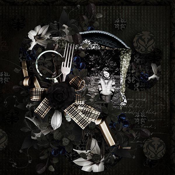 *** NEW ***  Dark Color by Florju Designs  http://digital-crea.fr/shop/florju-designs-c-155_167/dark-color-kit-complet-p-14375.html#.UlKeNlDOkxF