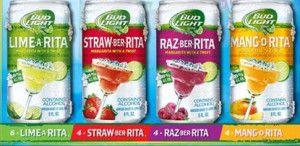 "Bud Light's ""Rita"" line.  Yummy!"