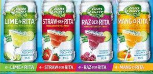 "Bud Light's ""Rita"" line.  Yummy!"