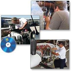 King Schools' A Mechanics Exam Course Bundle - DVD for PC. Includes Airframe, General & Powerplant Exam Course with Question Review guarantee you'll pass your exams.