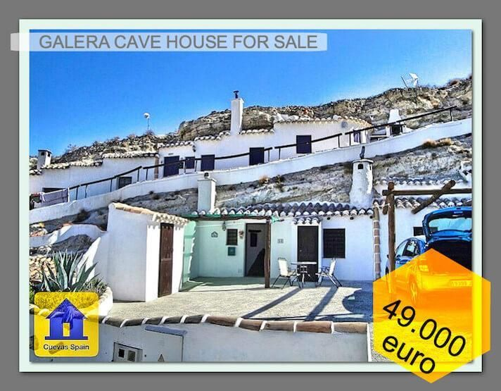 Beautiful cave house, well built and with a good lay out. € 49000