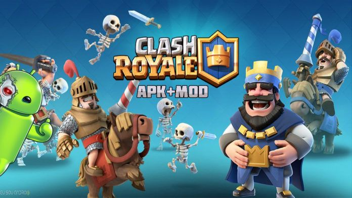Clash Royale Mod Apk V 2 3 2 Unlimited Gems Gold And Elixir