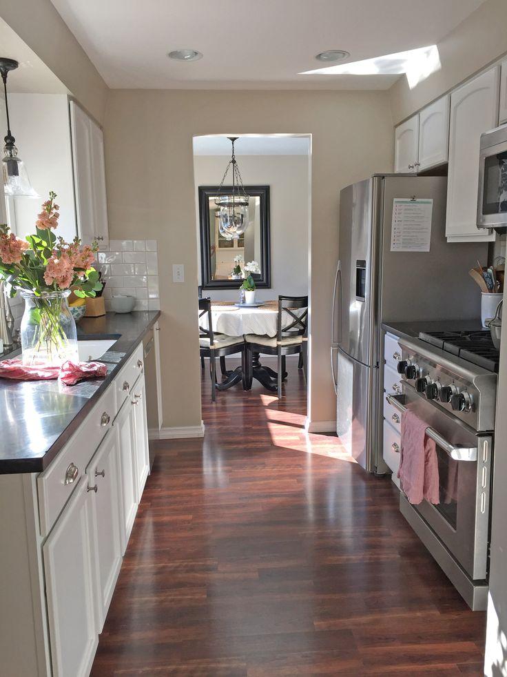 a small kitchen tour  galley kitchen design galley
