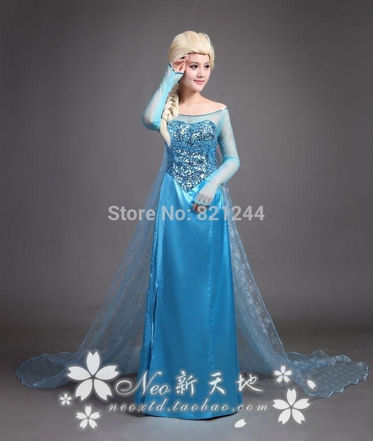Эльза костюм эльза платье взрослый костюм принцесса эльза косплей хэллоуин костюмы для женщин снежная королева платье на заказ
