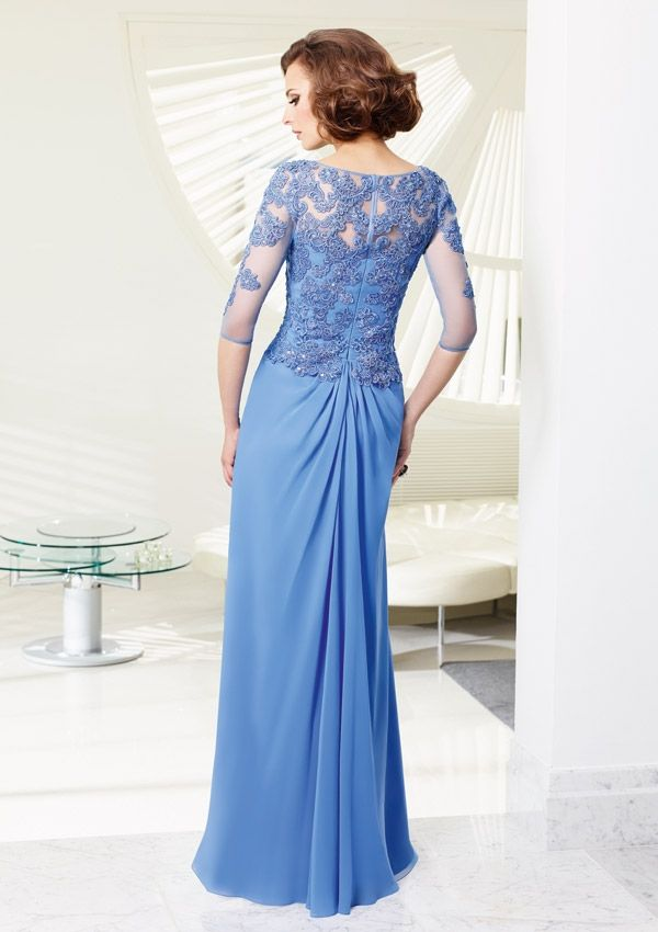 Bolero Evening Dress And Mother Of The Bride Dress From VM By Mori Lee Dress Style 70903 Chiffon Dress