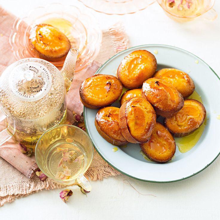 How to make Mandarin & Almonds Friands #Autumn #Mandarin #Almonds #Friands