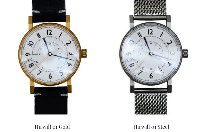 Hirwill is a recently started micro watch brand that is dedicated to deliver high quality watches with inspiration from nature.