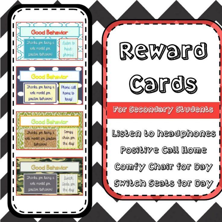 7 best student rewards images on Pinterest | Student rewards ...