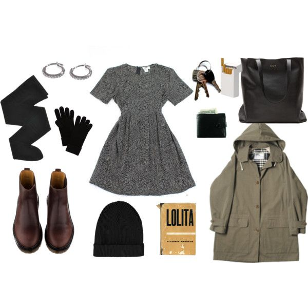 a winter day by clarki on Polyvore featuring Gerbe, Ileana Makri, Topshop, rag & bone and A.P.C.