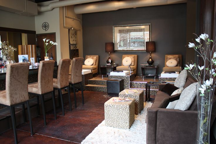 17 best images about nail salon decor 39 on pinterest pedicures pedicure station and beauty - Bar salon design ...