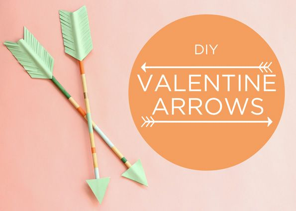 DIY Valentine Arrows