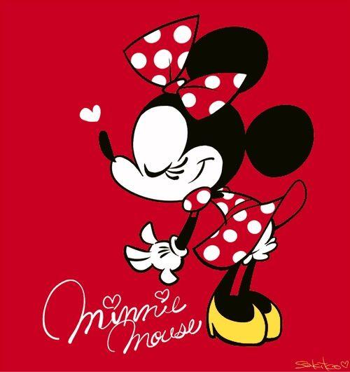 Image via We Heart It https://weheartit.com/entry/137491275/via/22479432 #cute #disney #girls #kawaii #minnie #wallpaper