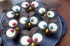 Eulen-Muffins, ein sehr schönes Rezept aus der Kategorie Kuchen. Bewertungen: 53. Durchschnitt: Ø 4,3.