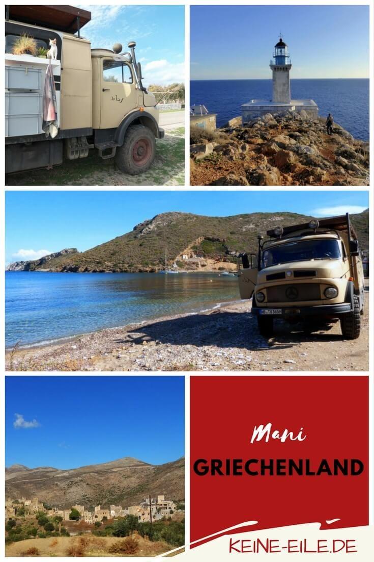 """Reisebericht Griechenland: Folge uns auf dem Roadtrip über den mittleren """"Finger"""" des Peloponnes - die Region Mani!"""