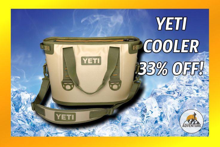 Save 33% On Yeti Cooler Sale!