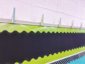 Miss Martin's Classroom: Hanging Student Work in Style