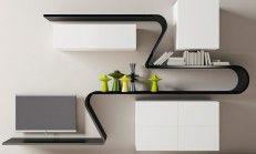 Very interesting and Decorative Wall Shelf Design