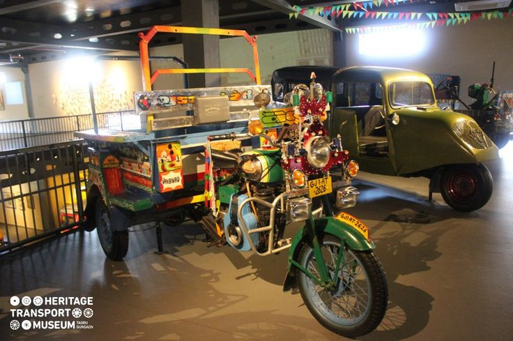 An amalgam of the engine of bullet and cart, Chhakda is a product of Gujarat's indigenous three wheeler industry. Take a look at this beautiful Chhakda of the museum adorned with bright colours symbolizing the confluence of art and innovative bend of indigenous people!
