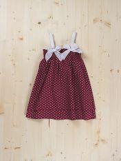 Paula Dress -  Dots & Knots Sizes 3T to 12T