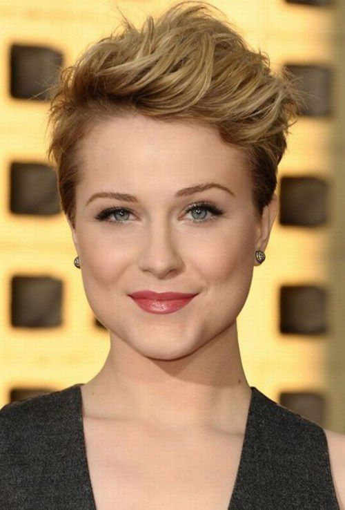 Pixie Crop Hairstyles Formal Event
