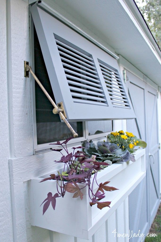 How to install Bermuda Shutters by Timberlane. 4men1lady.com