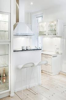 White: Interior, Ideas, Small Apartment, Floor, Tiny Kitchens, Small Kitchen, Design, White Kitchens