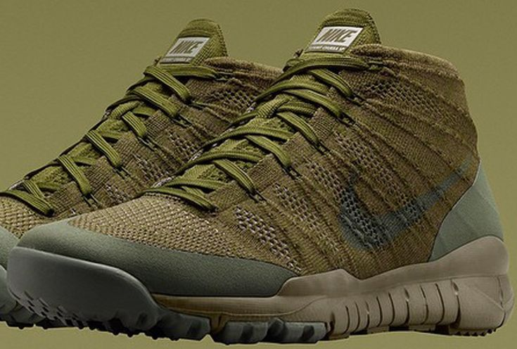 Nike Flyknit Trainer Chukka SFB Sage/Sage-Rough Green | Sole Collector Sneaker Release Date