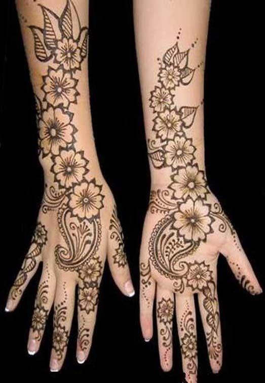 Mehndi Hands Real : Bridal henna mehndi and on pinterest