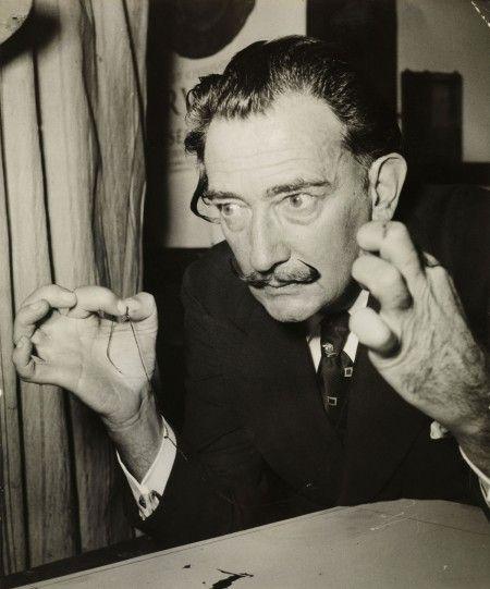 Salvador Dalí. Associated Press, Paris. Salvador Dalí ilustra El Quijote, 1956. © Salvador Dalí, Fundació Gala-Salvador Dalí, Figueres.