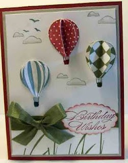 Love the hot air balloons on this card.