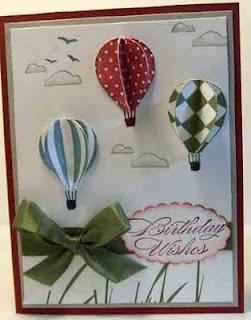 Hot air balloon birthday   craftymariasstampingworld.blogspot.com